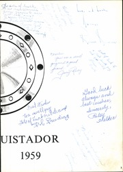 Page 7, 1959 Edition, Bryan Adams High School - El Conquistador Yearbook (Dallas, TX) online yearbook collection