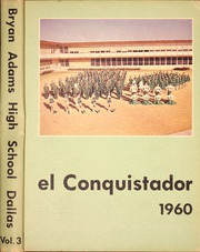 Page 1, 1960 Edition, Bryan Adams High School - El Conquistador Yearbook (Dallas, TX) online yearbook collection