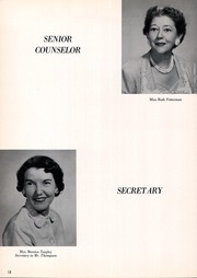 Page 16, 1960 Edition, Bryan Adams High School - El Conquistador Yearbook (Dallas, TX) online yearbook collection