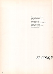 Page 6, 1960 Edition, Bryan Adams High School - El Conquistador Yearbook (Dallas, TX) online yearbook collection