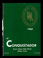 Page 5, 1964 Edition, Bryan Adams High School - El Conquistador Yearbook (Dallas, TX) online yearbook collection