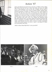Page 9, 1967 Edition, Bryan Adams High School - El Conquistador Yearbook (Dallas, TX) online yearbook collection