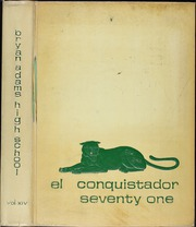 1971 Edition, Bryan Adams High School - El Conquistador Yearbook (Dallas, TX)