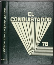 1978 Edition, Bryan Adams High School - El Conquistador Yearbook (Dallas, TX)