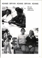 Page 17, 1979 Edition, Bryan Adams High School - El Conquistador Yearbook (Dallas, TX) online yearbook collection