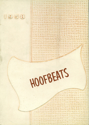 1958 Edition, Burges High School - Hoofbeats Yearbook (El Paso, TX)