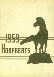 1959 Edition, Burges High School - Hoofbeats Yearbook (El Paso, TX)