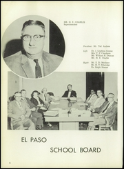 Page 10, 1959 Edition, Burges High School - Hoofbeats Yearbook (El Paso, TX) online yearbook collection