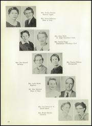 Page 14, 1959 Edition, Burges High School - Hoofbeats Yearbook (El Paso, TX) online yearbook collection