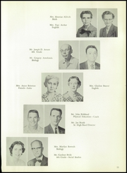 Page 15, 1959 Edition, Burges High School - Hoofbeats Yearbook (El Paso, TX) online yearbook collection