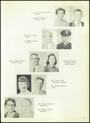 Page 17, 1959 Edition, Burges High School - Hoofbeats Yearbook (El Paso, TX) online yearbook collection