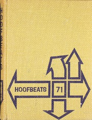 1971 Edition, Burges High School - Hoofbeats Yearbook (El Paso, TX)