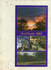 1981 Edition, Burges High School - Hoofbeats Yearbook (El Paso, TX)