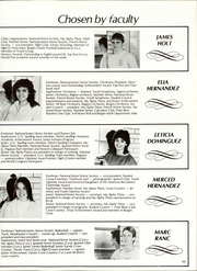 Page 201, 1985 Edition, Burges High School - Hoofbeats Yearbook (El Paso, TX) online yearbook collection