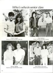 Page 202, 1985 Edition, Burges High School - Hoofbeats Yearbook (El Paso, TX) online yearbook collection