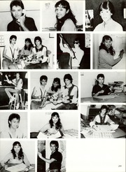 Page 213, 1985 Edition, Burges High School - Hoofbeats Yearbook (El Paso, TX) online yearbook collection