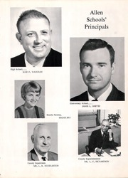 Page 11, 1967 Edition, Allen High School - Eagle Yearbook (Allen, TX) online yearbook collection