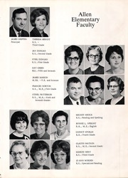 Page 13, 1967 Edition, Allen High School - Eagle Yearbook (Allen, TX) online yearbook collection