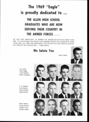 Page 6, 1969 Edition, Allen High School - Eagle Yearbook (Allen, TX) online yearbook collection