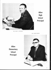 Page 9, 1969 Edition, Allen High School - Eagle Yearbook (Allen, TX) online yearbook collection