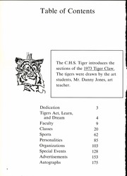 Page 6, 1973 Edition, Clarksville High School - Tiger Claw Yearbook (Clarksville, TX) online yearbook collection