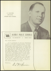 Page 15, 1950 Edition, Kermit High School - Sandstorm Yearbook (Kermit, TX) online yearbook collection