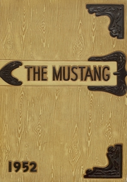 1952 Edition, Andrews High School - Mustang Yearbook (Andrews, TX)