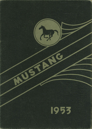 1953 Edition, Andrews High School - Mustang Yearbook (Andrews, TX)