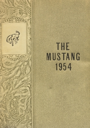1954 Edition, Andrews High School - Mustang Yearbook (Andrews, TX)