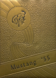 1955 Edition, Andrews High School - Mustang Yearbook (Andrews, TX)