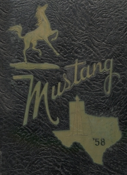 1958 Edition, Andrews High School - Mustang Yearbook (Andrews, TX)