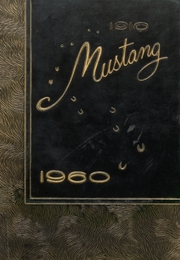 1960 Edition, Andrews High School - Mustang Yearbook (Andrews, TX)