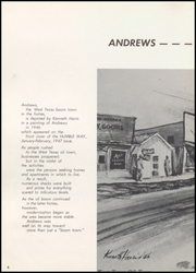 Page 10, 1960 Edition, Andrews High School - Mustang Yearbook (Andrews, TX) online yearbook collection