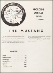 Page 5, 1960 Edition, Andrews High School - Mustang Yearbook (Andrews, TX) online yearbook collection