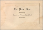 Page 5, 1914 Edition, Plainview High School - Plain View Yearbook (Plainview, TX) online yearbook collection