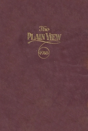 Page 1, 1918 Edition, Plainview High School - Plain View Yearbook (Plainview, TX) online yearbook collection