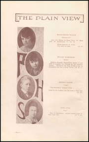Page 14, 1919 Edition, Plainview High School - Plain View Yearbook (Plainview, TX) online yearbook collection