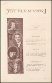 Page 17, 1919 Edition, Plainview High School - Plain View Yearbook (Plainview, TX) online yearbook collection