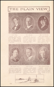 Page 8, 1919 Edition, Plainview High School - Plain View Yearbook (Plainview, TX) online yearbook collection