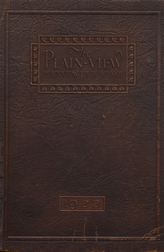 Page 1, 1922 Edition, Plainview High School - Plain View Yearbook (Plainview, TX) online yearbook collection