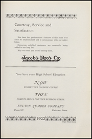 Page 101, 1922 Edition, Plainview High School - Plain View Yearbook (Plainview, TX) online yearbook collection