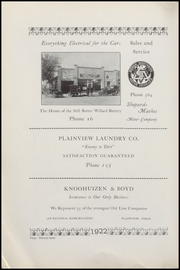Page 102, 1922 Edition, Plainview High School - Plain View Yearbook (Plainview, TX) online yearbook collection