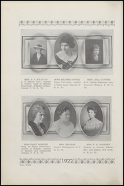 Page 14, 1922 Edition, Plainview High School - Plain View Yearbook (Plainview, TX) online yearbook collection