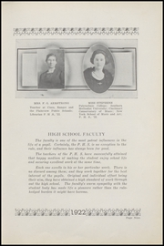 Page 15, 1922 Edition, Plainview High School - Plain View Yearbook (Plainview, TX) online yearbook collection