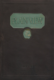 Plainview High School - Plain View Yearbook (Plainview, TX) online yearbook collection, 1923 Edition, Page 1
