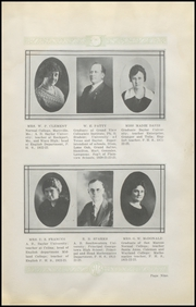 Page 13, 1923 Edition, Plainview High School - Plain View Yearbook (Plainview, TX) online yearbook collection