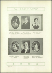 Page 10, 1924 Edition, Plainview High School - Plain View Yearbook (Plainview, TX) online yearbook collection