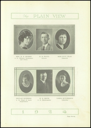 Page 11, 1924 Edition, Plainview High School - Plain View Yearbook (Plainview, TX) online yearbook collection