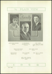 Page 12, 1924 Edition, Plainview High School - Plain View Yearbook (Plainview, TX) online yearbook collection