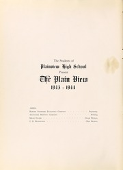 Page 6, 1944 Edition, Plainview High School - Plain View Yearbook (Plainview, TX) online yearbook collection